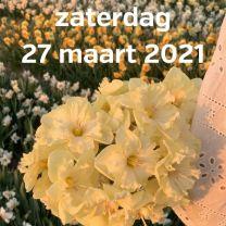 Bezoek narcissenvelden 27 Maart 2021