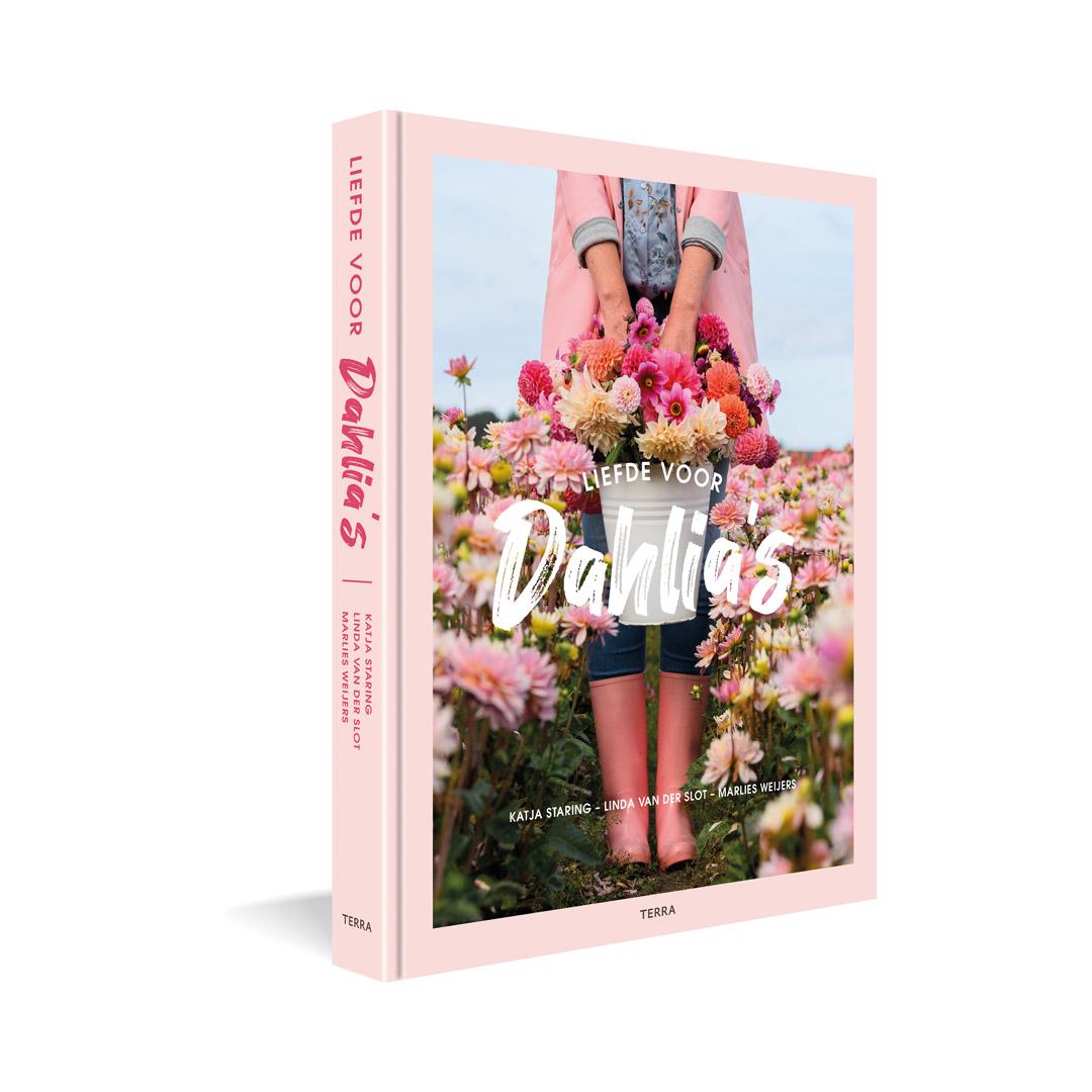 dahlia boek liefde voor dahlia's